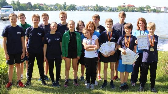 Bild des Jugendteams der Deutschen Meisterschaft 2017